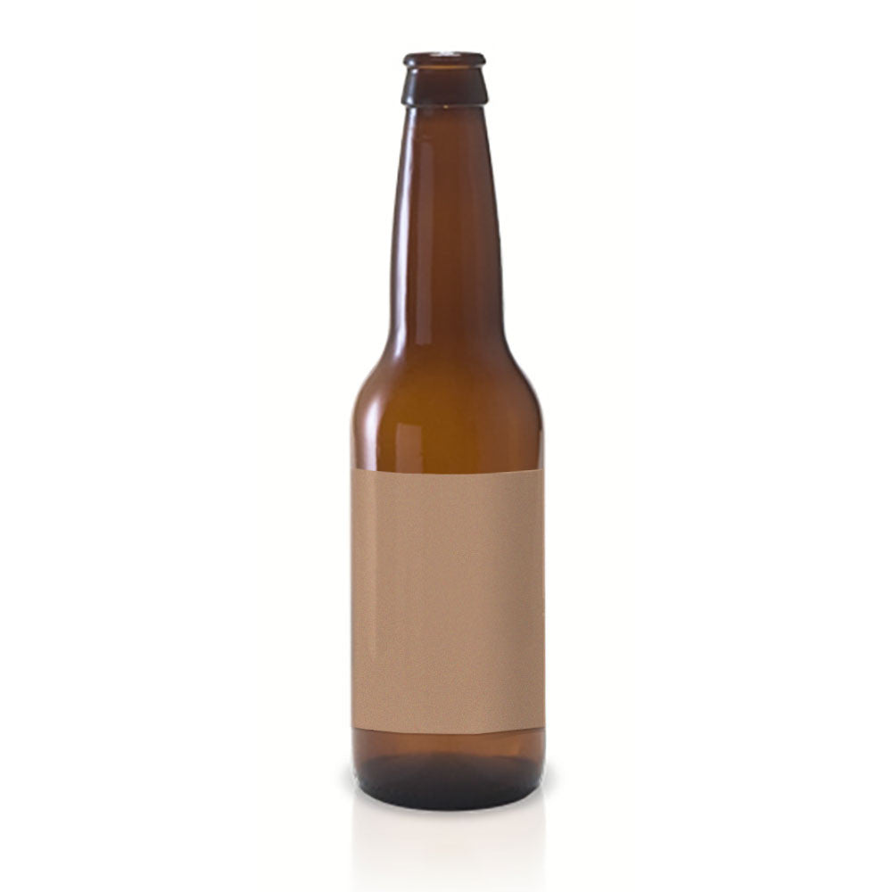 photo regarding Printable Beer Labels referred to as 30 Hefty Vinyl Beer Bottle Labels, 4x3 within just.